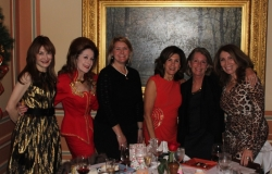 Dr. Susan Hurt, Nancy Pillsbury Shirley,  Melissa Paz, Pam Brown, Dr. June Wolff, & Theresa Klaus